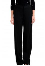 Maison Margiela 4 Women's Black Wool Dress Pants