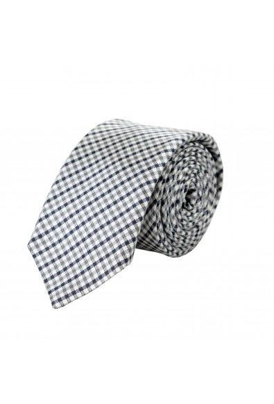 Hugo Boss Men's 100% Silk Plaid Tie
