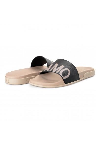 """Salvatore Ferragamo Men's """"Amos"""" Rubber Slides Flip Flops Shoes: Picture 2"""