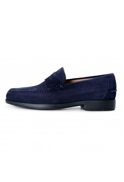Salvatore Ferragamo Men's Ferro Suede Leather Loafers Moccasins Slip On Shoes: Picture 2