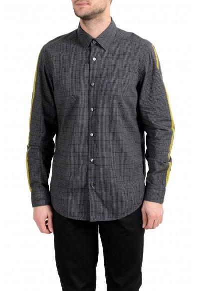 "Hugo Boss ""Lukas_F"" Men's Regular Fit Plaid Long Sleeve Casual Shirt"