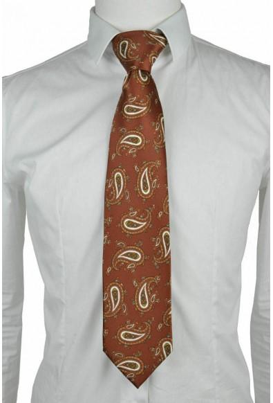 Brioni Men's Multi-Color 100% Silk Paisley Print Neck Tie: Picture 2