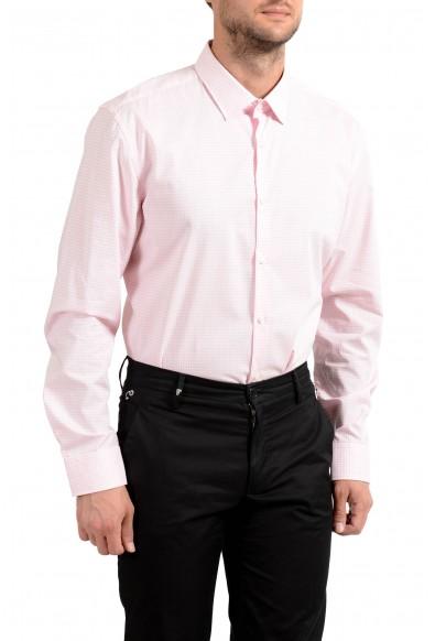 "Hugo Boss Men's ""C-Joey"" Slim Fit Plaid Long Sleeve Dress Shirt: Picture 2"