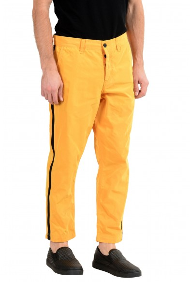 """Hugo Boss """"Salt 2"""" Men's Yellow Tapered Fit Casual Pants : Picture 2"""