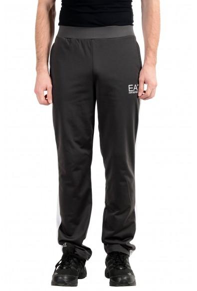 """Emporio Armani EA7 """"Train Tri"""" Men's Gray Train Sweat Pants"""