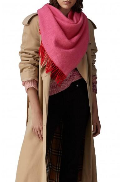 Burberry London Unisex Pink 100% Cashmere Scarf Shawl