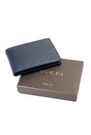 Gucci 100% Leather Navy Men's Bifold Wallet: Picture 2