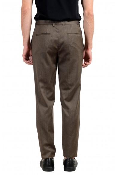"Hugo Boss ""Adwart/Wilard/Hets"" Men's 100% Wool Brown Dress Pants: Picture 2"