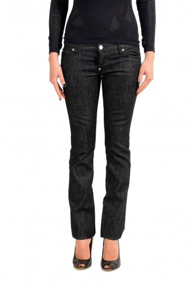 "Dsquared2 Women's ""Trombetta Jean"" Off Black Jeans"