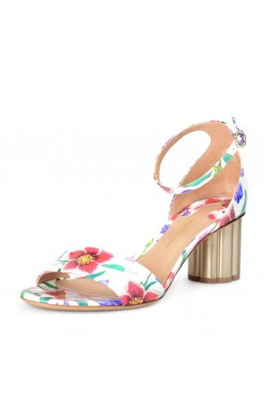 "Salvatore Ferragamo Women's ""ERACLEA"" Patent Leather Sandals Shoes"