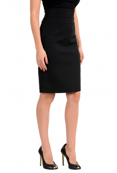Versace Women's Black Pencil Skirt : Picture 2