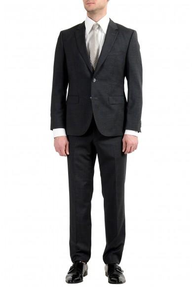"Hugo Boss ""C-Jeys1/C-Shaft1"" Men's 100% Wool Gray Two Button Suit"