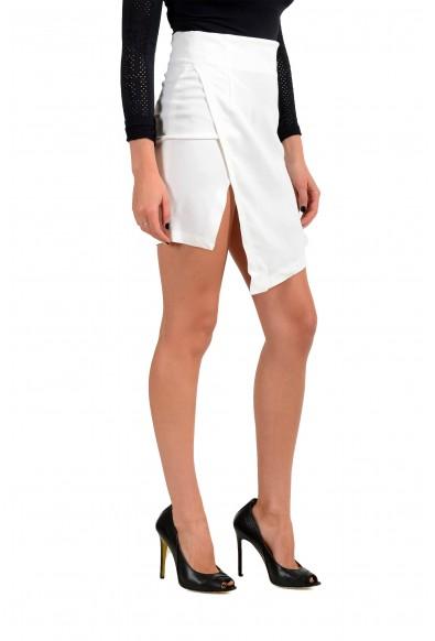 Just Cavalli Women's White Asymmetrical Skirt: Picture 2
