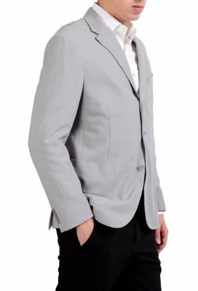 Malo Men's Gray Three Button Blazer Sport Coat: Picture 2
