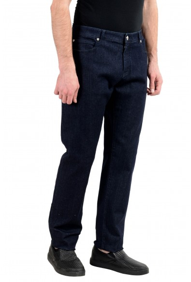 Versace Men's Dark Blue Stretch Slim Jeans: Picture 2