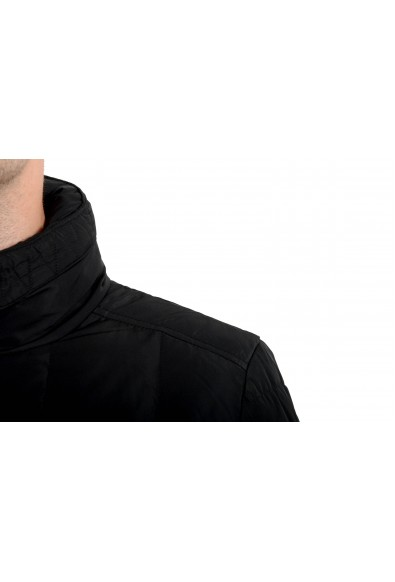 Roberto Cavalli Men's Down Black Full Zip Parka Jacket: Picture 2