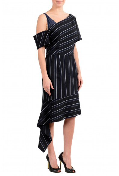 "Hugo Boss ""Kaloras"" Women's Striped Asymmetrical Dress: Picture 2"