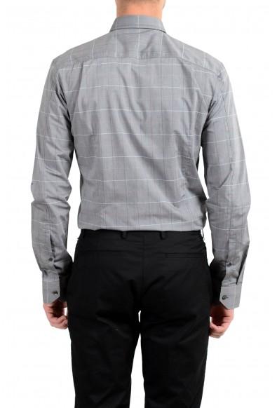"Hugo Boss ""Elisha01"" Men's Extra Slim Plaid Long Sleeve Dress Shirt: Picture 2"