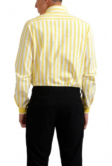 Versace Jeans Multi-Color Striped Button-Front Men's Casual Shirt: Picture 2