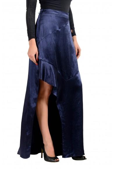 """Hugo Boss Women's """"Rilani"""" Navy Blue Asymmetrical Skirt: Picture 2"""