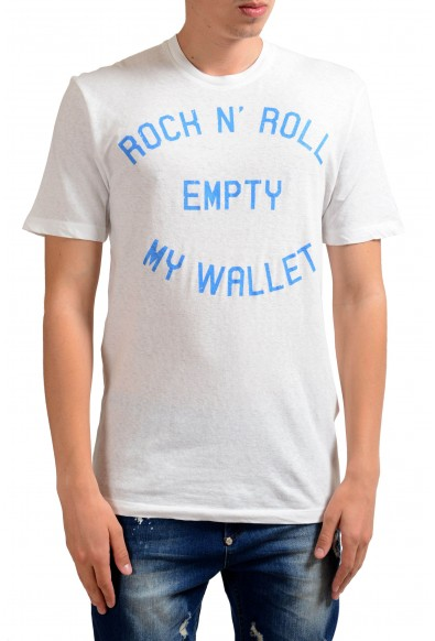 Dsquared2 Men's Graphic Crewneck Short Sleeve T-Shirt
