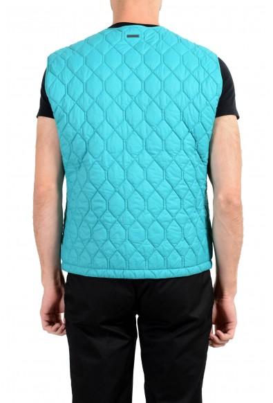 """Hugo Boss """"Ciro"""" Men's Blue Button Up Vest : Picture 2"""