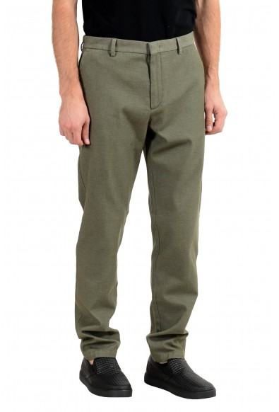 """Hugo Boss """"Riko-T"""" Men's Green Tapered Fit Casual Pants : Picture 2"""