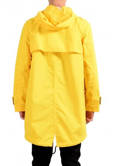 """Hugo Boss """"Urain"""" Men's Yellow Full Zip Hooded Windbreaker Coat : Picture 2"""
