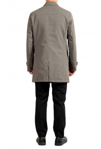 "Hugo Boss Men's ""Dain4"" Gray Car Zip Up Button Down Coat: Picture 2"