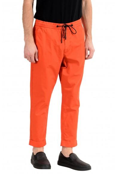 "Hugo Boss ""Sabriel2"" Men's Orange Tapered Fit Casual Pants : Picture 2"