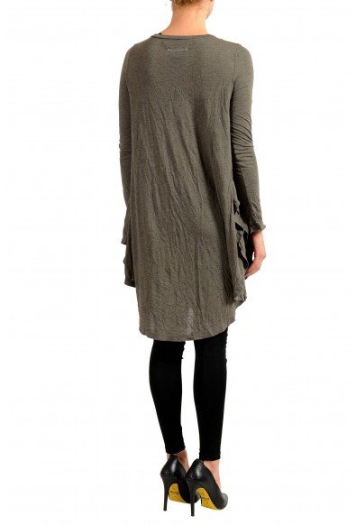 Maison Margiela MM6 Angora Cashmere Gray Women's Tunic Dress : Picture 2