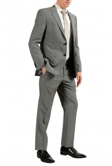 """Hugo Boss """"The Grand/Central US"""" Men's 100% Wool Gray Two Button Suit: Picture 2"""