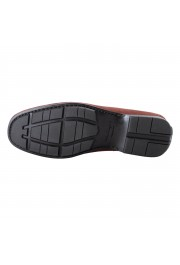"Salvatore Ferragamo Men's ""GEROLAMO 5"" Brown Suede Leather Loafers Shoes: Picture 3"