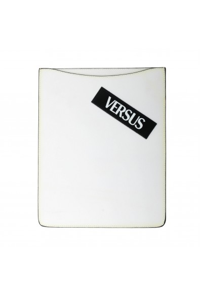 Versus Versace White Textured Leather Cover Case