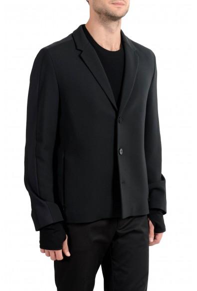 "Hugo Boss ""Alekto"" Men's Wool Black Stretch Three Button Blazer Sport Coat: Picture 2"