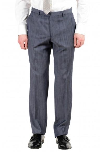 "Hugo Boss ""C-Jeffery/C-Simmons"" Men's 100% Wool Dark Blue Two Button Suit: Picture 2"