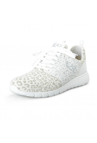 Emporio Armani EA7 Men's Gray Fashion Sneakers Shoes