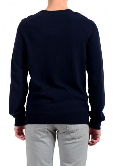 """Emporio Armani EA7 """"Golf"""" Men's Cashmere Wool Dark Blue V-Neck Sweater: Picture 2"""