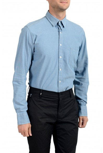 Dolce&Gabbana D&G Men's Blue Long Sleeve Dress Shirt: Picture 2