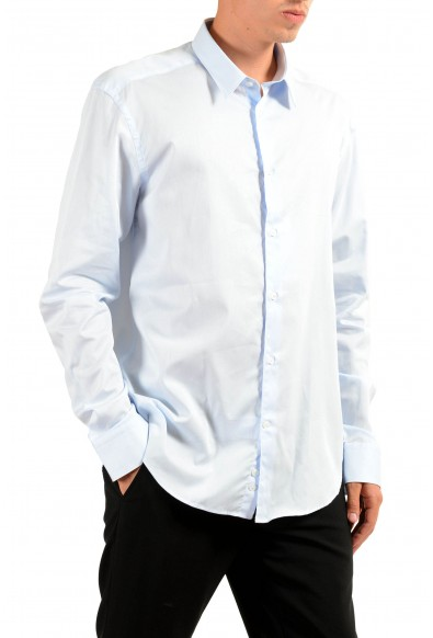 "Versace Collection ""Trend"" Men's Light Blue Long Sleeve Dress Shirt: Picture 2"