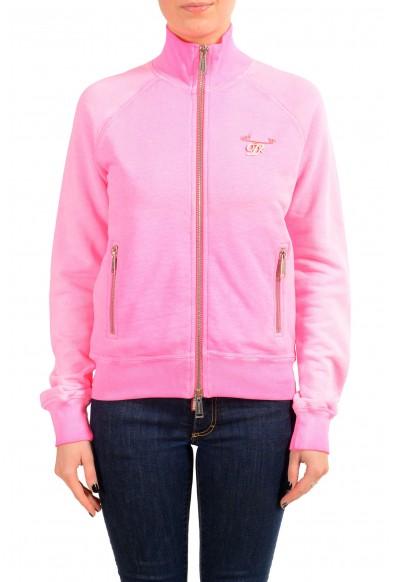 Dsquared2 Women's Pink Full Zip Track Jacket