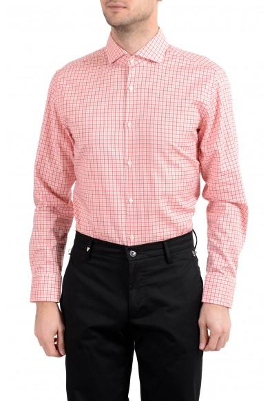 "Hugo Boss ""Mark US"" Men's Sharp Fit Plaid Long Sleeve Dress Shirt: Picture 2"