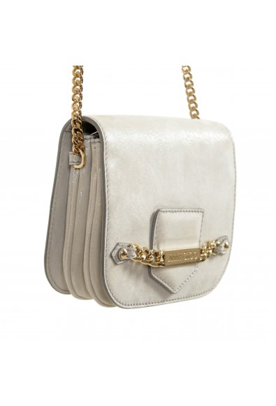 """Jimmy Choo Women's Silver Leather """"Shadow"""" Shoulder Crossbody Bag: Picture 2"""
