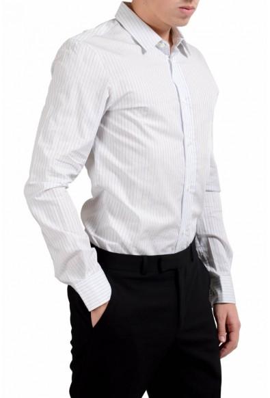 Maison Margiela 14 Men's Slim Striped Long Sleeve Casual Shirt: Picture 2