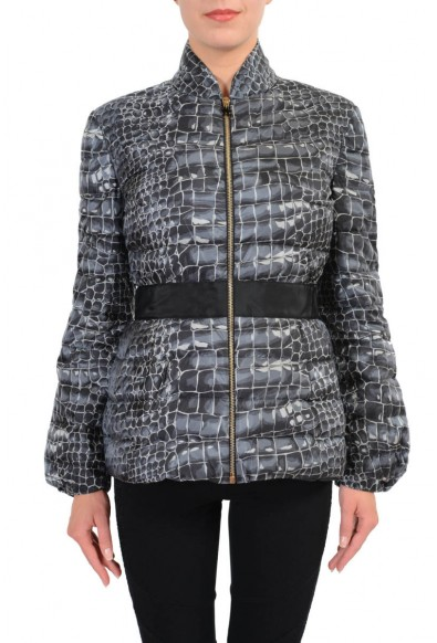 """Moncler Gamme Rouge """"Louise"""" Women's Down Insulated Full Zip Parka Jacket"""
