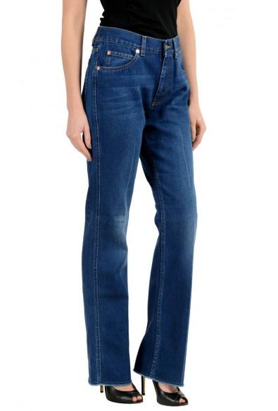 Gucci Blue Medium Wash Straight Leg Women's Jeans: Picture 2