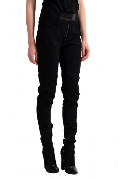 Tom Ford Wool Black Slim Fit Women's Casual Pants: Picture 2