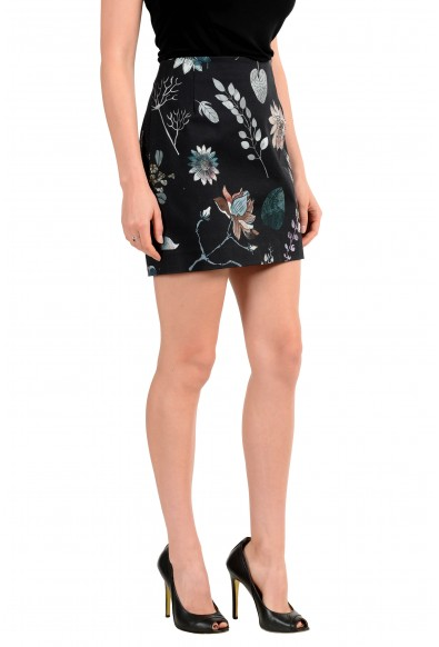 Versus by Versace Women's Floral Print Mini Skirt: Picture 2
