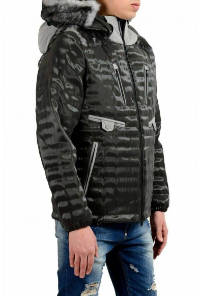 Moncler Men's Fur Goose Down Full Zip Hooded Jacket: Picture 2