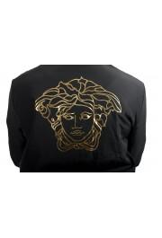 Versace Women's Black Zip Up Hooded Bomber Jacket : Picture 3